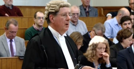The petitioners' QC Jonathan Mitchell argued Carmichael had lied in order to enhance his own election prospects.