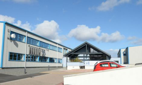 Shetland College should be able to house students from outwith the isles soon when a new residential block is built. Photo Promote Shetland