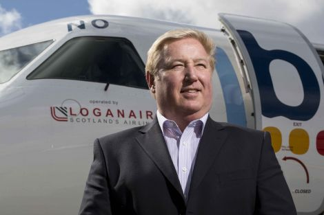 Loganair chief executive Stewart Adams emphasised that no pilot would leave the ground if they had safety concerns.