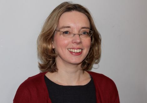 Victoria Sutherland, a research fellow at Glasgow University's Adam Smith Business School, who wrote the report on Shetland's Fragile Communities.