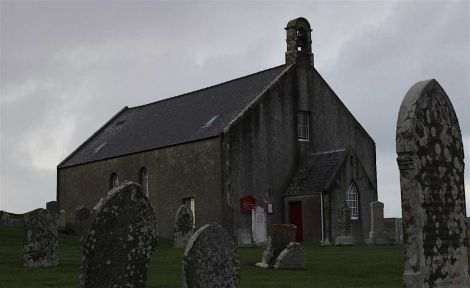 A cloud hangs over the three kirks in the Tingwall parish due to a hefty maintenance bill. Photo: Shetnews/Hans Marter