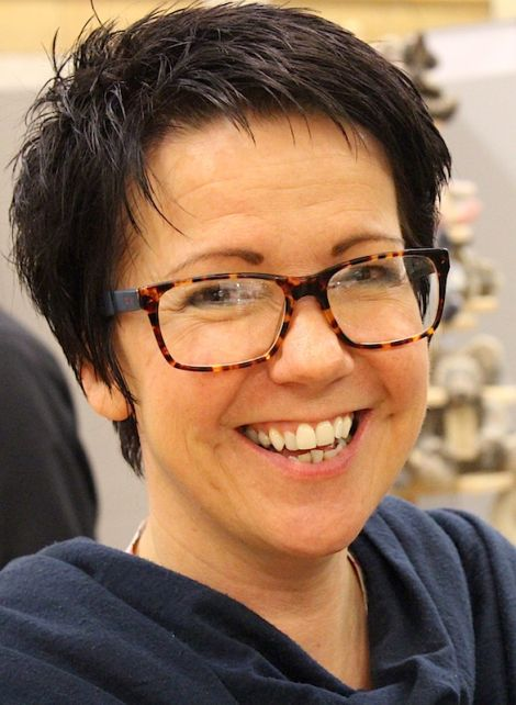 Shetland Arts and Craft Association secretary Wendy Inkster: 'extremely high quality craft products'.