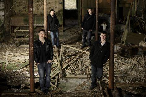 Väir, clockwise from left, are: Erik Peterson, Lewie Peterson, Jonny Polson and Ryan Couper.
