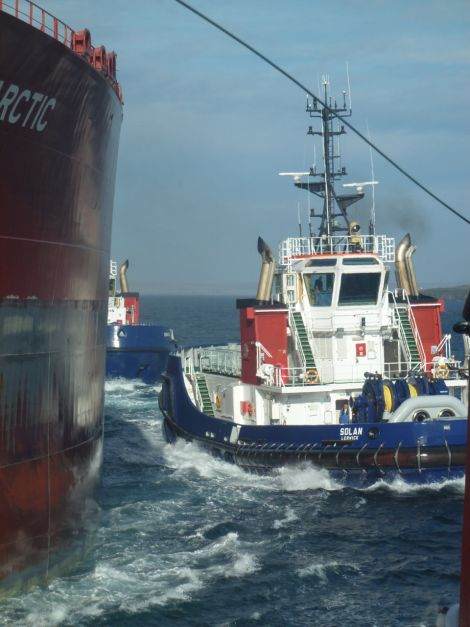 The two tugs Solan and Bonxie did cost £7 million each - Photo: John Bateson