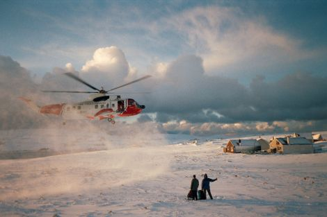 'The real workhorse was the helicopter and the crews - they were never out of the air' - all photos Kieran Murray
