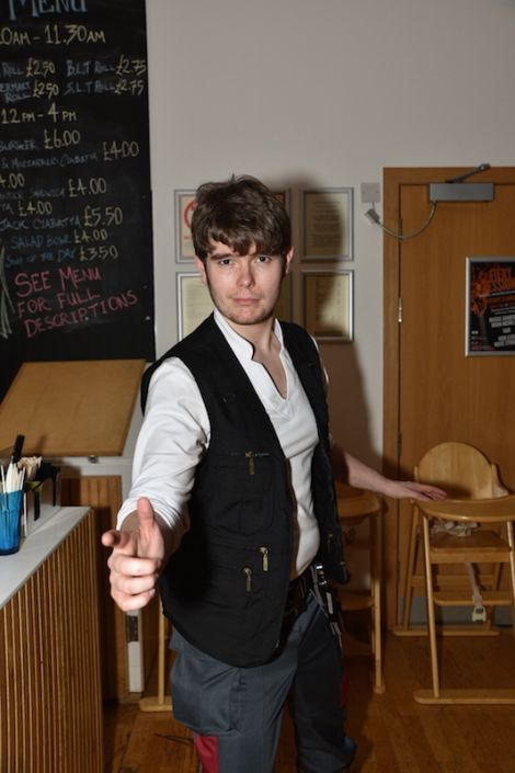 ... and Peter Ratter turning into Han Solo.