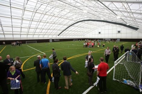 A similar indoor facility in Largs.