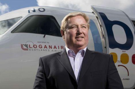 Loganair chief executive Stewart Adams.