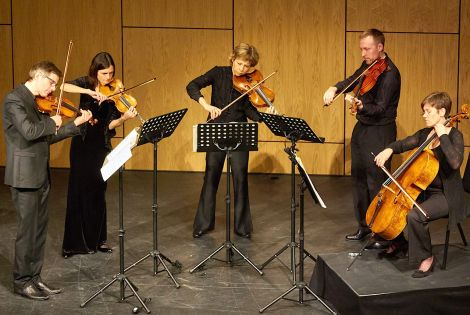 Scottish Ensemble - the kind of talent that normally skips over places like Shetland - Photo: Chris Brown