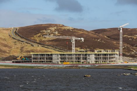 The new school seen from North Lochside - Photo: John Coutts