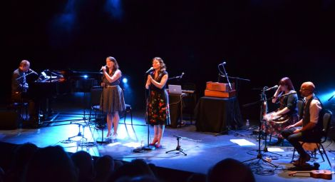 BBC Folk Award winners The Unthanks juxtaposed beautiful melodies and gritty subject matter to enchanting effect. Photo: Kelly Nicolson Riddell