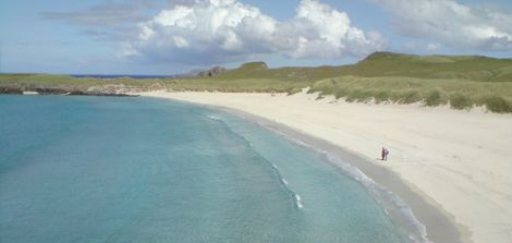 The Sands of Breckon in Yell.