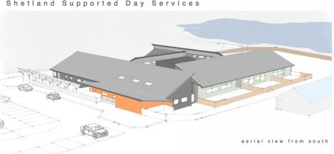 An architect's drawing of how the new Eric Gray centre at Seafield will look. Image courtesy of Richard Gibson Architects.