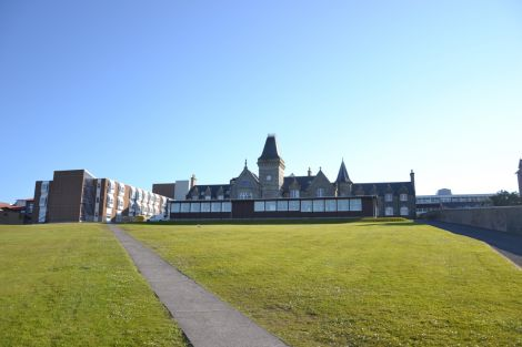"""The SIC has drawn up a """"draft development brief"""" for the existing Anderson High School site. Photo: Shetnews/Neil Riddell"""