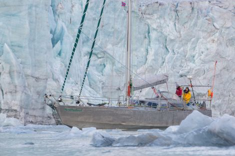The Northabout can only attempt this journey due to the thinning of polar ice as a result of climate change.