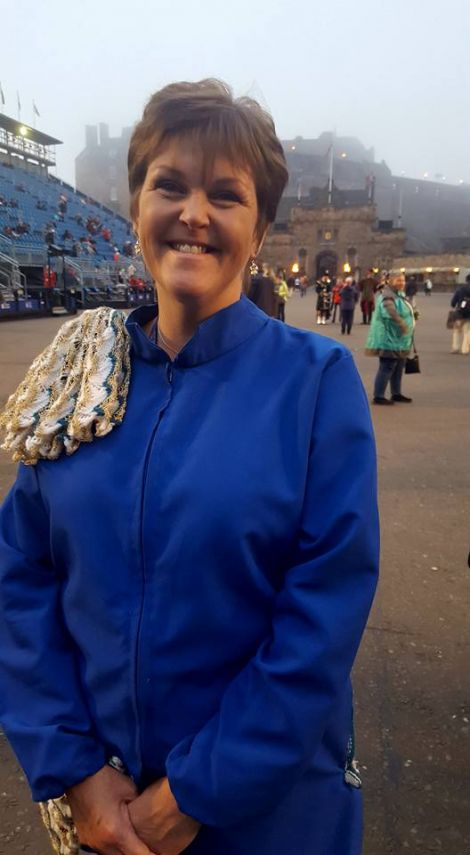 Margaret Robertson, who put together the Hjaltibonhoga fiddlers, is continuing to see global opportunities arise for the group. Photo: BBC Radio Shetland