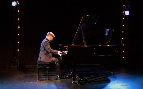 Shetland born pianist Neil Georgsson at Mareel - Photo: Shetland Arts