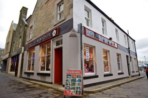 Shetland Mobiles, Tablets & Consoles is offering a drop off and collection service from High Level Music at Lerwick's Market Cross.