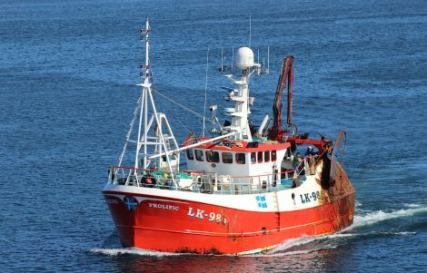 The Prolific - one of the vessels in the Shetland whitefish fleet. Photo: Hans J Marter/ShetNews