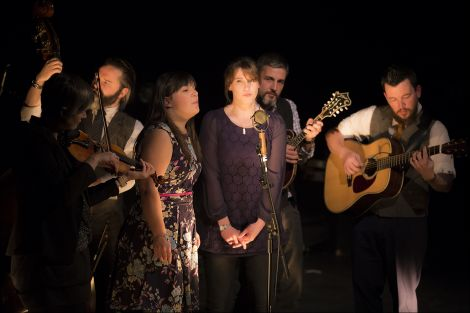 """Local six-piece Kansa offered """"clear diction and pitch perfect harmonies"""". Photo: Dale Smith"""