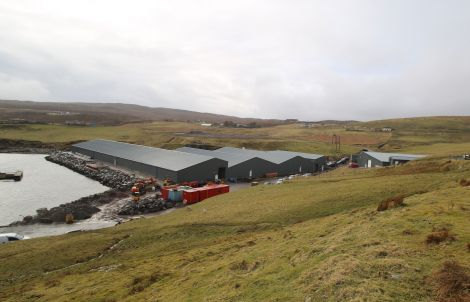 The hatchery at Girlsta, owned by Grieg Seafood Hjaltland.