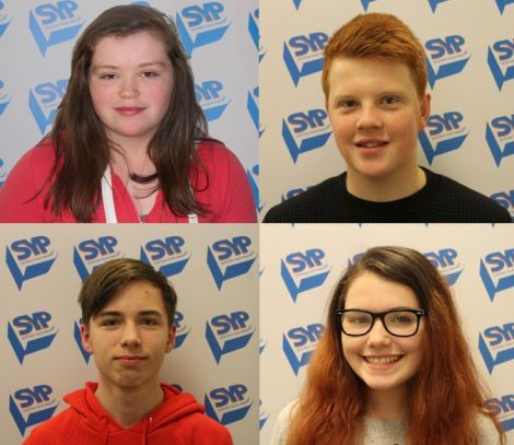 Clockwise to left to right: Dannii Coleman, Charlie Haddon, Kyna Malcolmson, Lewis Johnson.