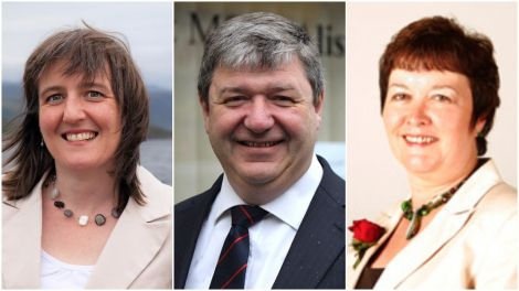 Highlands and Islands list MSPs Maree Todd of the SNP (left) and Rhoda Grant of Labour (right) have joined the Lib Dems' Northern Isles MP Alistair Carmichael in condemning the Tory government's stance on islands renewables.