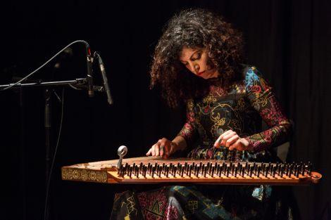 Kanun virtuoso Maya Youssef.