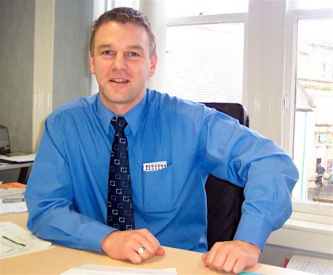 Promote Shetland's Andy Steven has been appointed as interim manager of Shetland Amenity Trust.