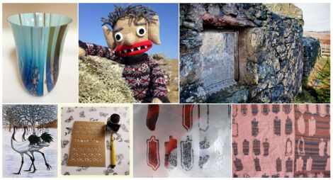 Previous work from recipients of the Visual Art and Craft Awards.
