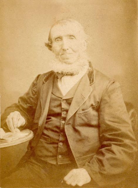 AD Mathewson. Photo courtesy of Shetland Museum and Archives.