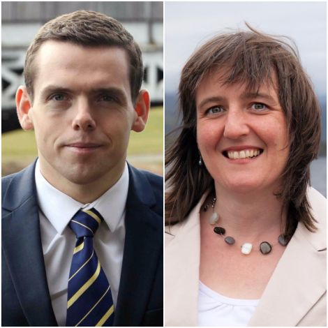 Highlands and Islands list MSPs Douglas Ross (Tory) and Maree Todd (SNP).