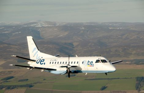 The pilot of a Loganair aircraft had to take evasive action after someone flew a drone dangerously close during its approach to Edinburgh Airport.