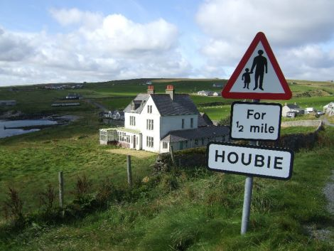 Houbie is the island's main settlement.