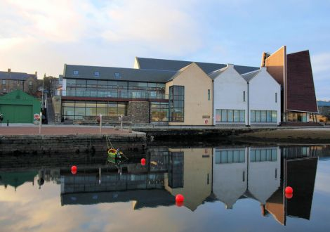 The Shetland Museum and Archives enjoyed a royal launch back in 2007. Photo: Shetland Amenity Trust