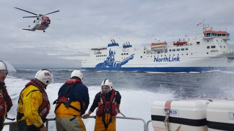 Lerwick lifeboat open day raised more than £7,500 for the RNLI - Photo: NorthLink Ferries