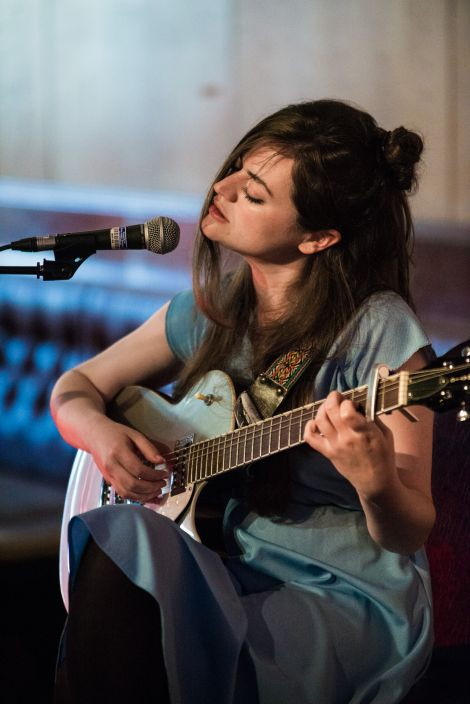 Glasgow-based singer Siobhan Wilson opened the show, as well as joining Mason during his set. Photo: Steven Johnson.
