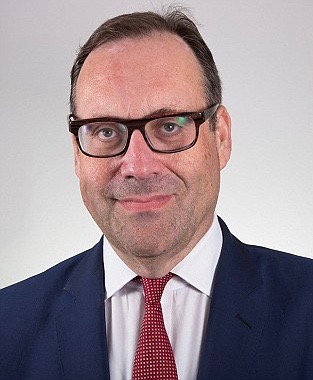 UK energy and industry minister Richard Harrington.