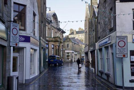 Lerwick's Commercial Street.