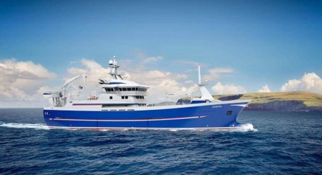 The owners of the Adenia Fishing Company have commissioned a replacement vessel, to be designed in Norway and built in Spain.