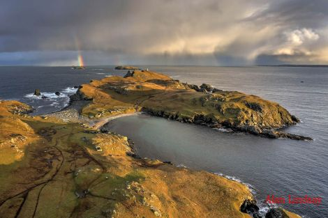 The picturesque Fethaland peninsula is popular among locals and tourists.