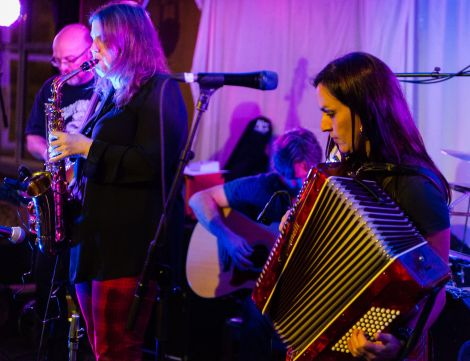 Local act Odessa were on top form at the Legion. Photo: Steven Johnson