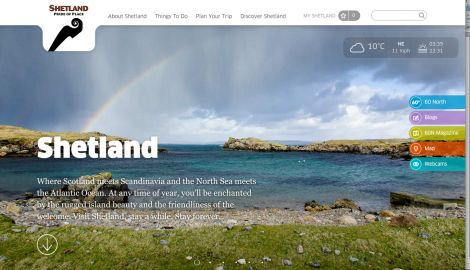 "The plan says: ""We cannot attract people to Shetland if we are not visible, and in this modern world, visibility means a digital presence and digital accessibility."""