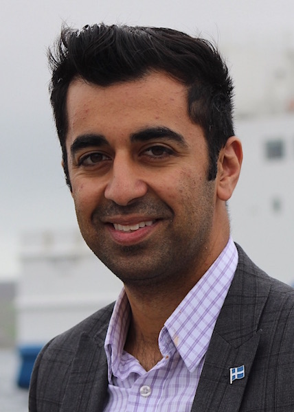 Islands and transport minister Humza Yousaf.