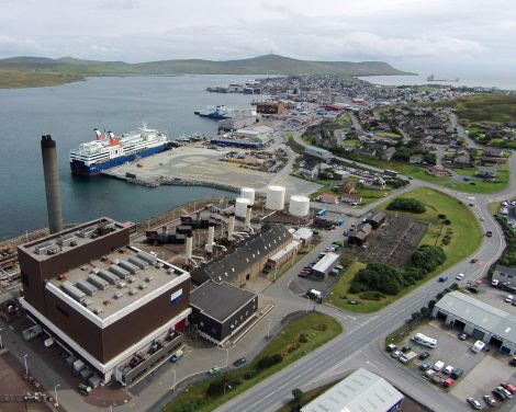 Lerwick power station is set to produce electricity well into the next decade.