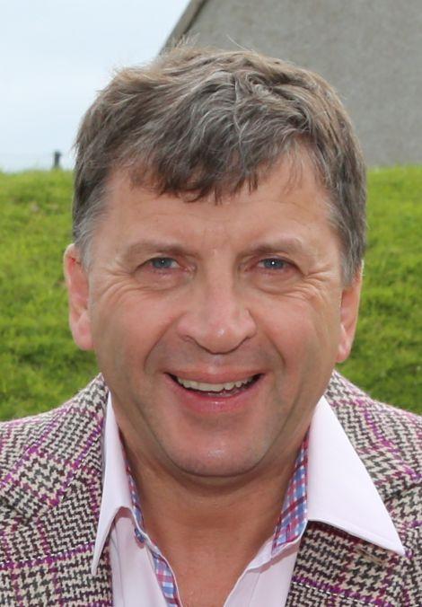 Saxa Vord owner Frank Strang.