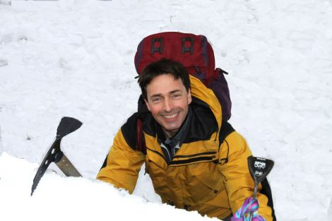 Matt Dickinson is in Shetland to speak about all things Everest.