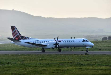 Loganair's insistence that there was only room for one airline in Shetland was realised this week. Photo: Mark Berry