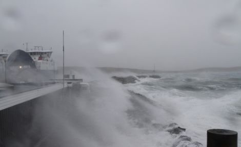 Ferry services in Shetland are likely to be disrupted during Thursday and Friday.