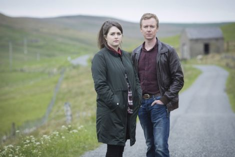 Steven Robertson as Sandy and Alison O'Donnell as Tosh are playing again the main supporting roles. Photo: BBC